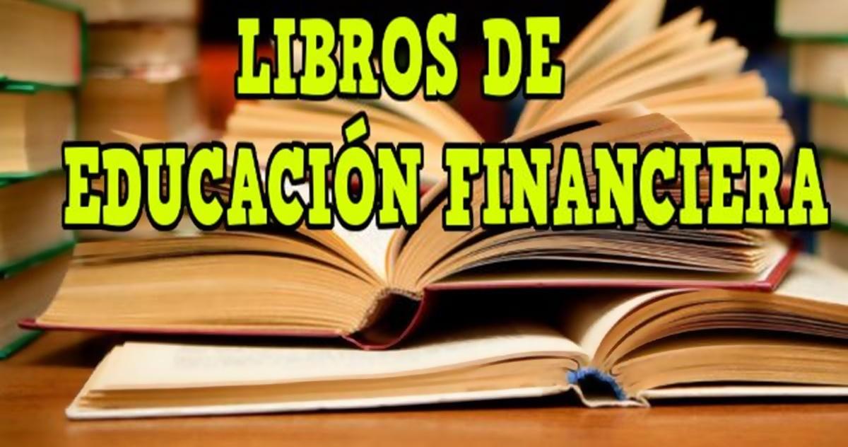 libros sobre educación financiera